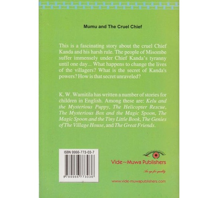 Mumu and the Cruel Chief | Books, Stationery, Computers, Laptops and more   Buy online and get free delivery on orders above Ksh  2,000  Much more than