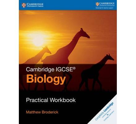 Cambridge IGCSE (R) Biology Practical Workbook   Text Book ...