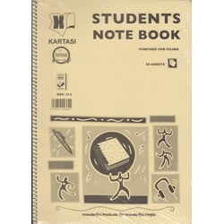 Students Note Book A4 Ref412