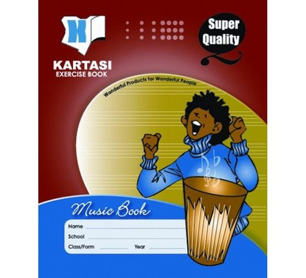 Exercise books 48pages Kartasi Brand Music Manila Cover
