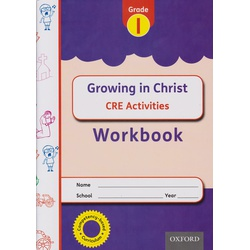 OUP Growing in Christ CRE Grade 1 Workbook