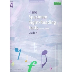 Piano Specimen Sight-Reading Tests GD4