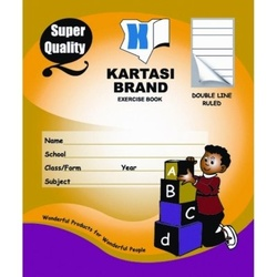 Exercise books 96 pages Kartasi Brand Double/Line Manila Cover