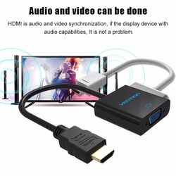 Vention Hdmi to Vga wt Micro usb & Audio