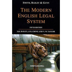 Smith Modern English Legal Systems 5ED
