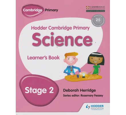 Hodder Cambridge Science Learners' book stage 2