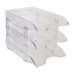 Bantex vision trays 9414-08 Clear
