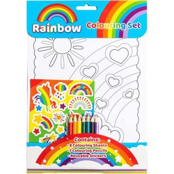 Rainbow Colouring Set  (ALLG)