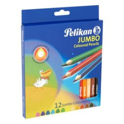 Pelikan 12pcs triangular color pencils 407252