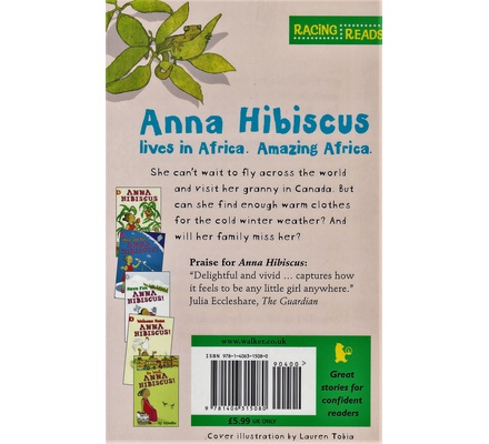 Good Luck Anna Hibiscus!