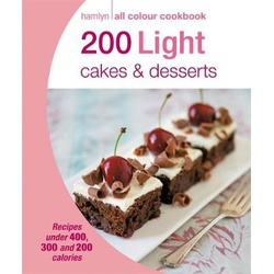 Hamlyn all Colour Cookbook: 200 Light Cakes & Desserts (B66KS)
