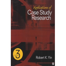 Applications of Case study Research 3rd Edition