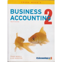 Business Accounting 2 12th Edition
