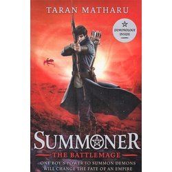 Summoner book three: The Battlemage (Hachette)