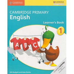 Cambridge Primary English Learner's Book 1