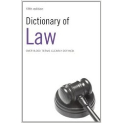 Dictionary of Law 5ED