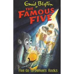 Famous Five: Five got to demon's rocks (Large)