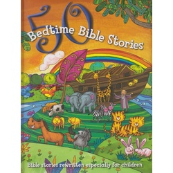 50 Bedtime Bible stories NPP (Bible stories rewritten especially for children)