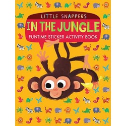 In the Jungle: Funtime Sticker Activity Book