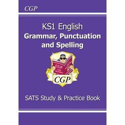 Key Stage 1 English Grammar, Punctuation & Spelling Study & Practice Book