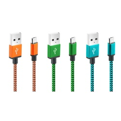 Cliptec Jacket usb 3.0 Micro Cable OCC106 Asstd