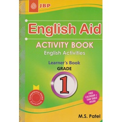 English Aid Activity book Grade 1