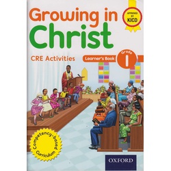 Growing in Christ CRE Activities Grade1