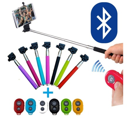 Monopod Selfie Stick with Bluetooth