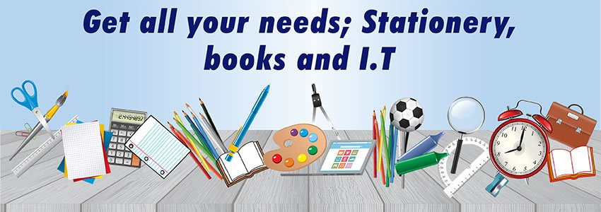 Buy Books, stationery and IT under one roof