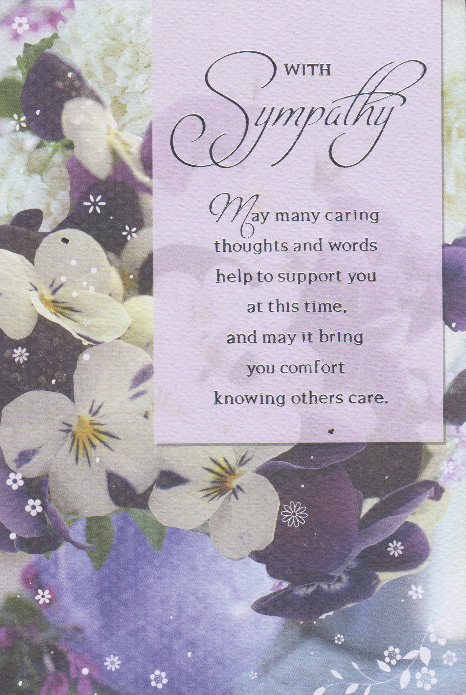 Sympathy Card | Text Book Centre