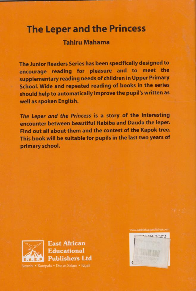 The Leper and the Princess | Books, Stationery, Computers, Laptops and  more  Buy online and get free delivery on orders above Ksh  2,000  Much  more