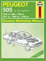 peugeot 505 4 cyl petrol text book centre rh textbookcentre com Peugeot 505 Turbo Blue Peugeot 505 Interior
