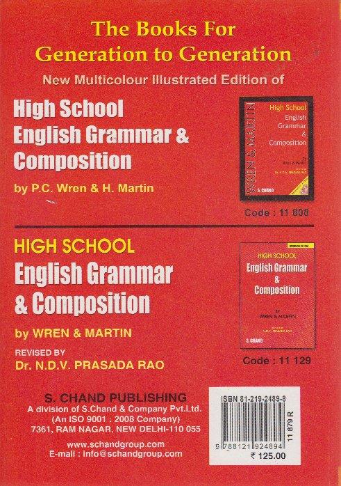 Key to high school english grammar and composition text book centre key to high school english grammar and composition fandeluxe Images