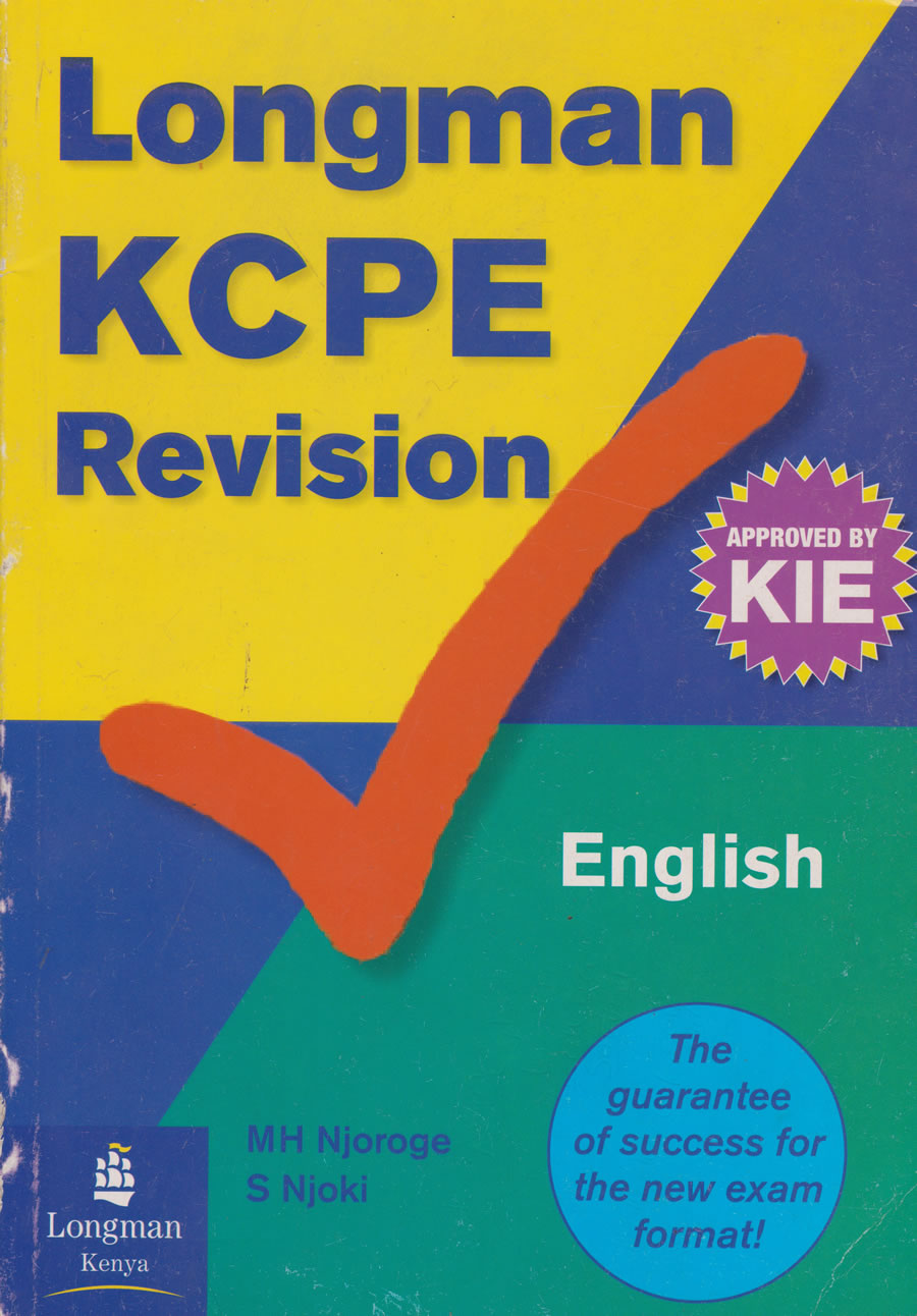 Longman KCPE Revision English | Books, Stationery, Computers, Laptops and  more  Buy online and get free delivery on orders above Ksh  2,000  Much  more