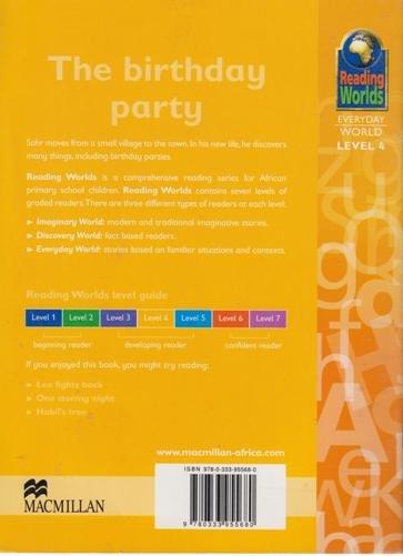 The Birthday Party Reading Worlds Everyday World Level 4