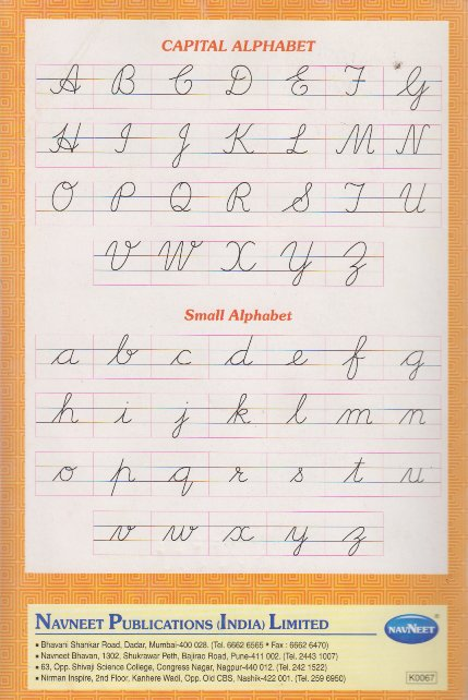how to write in cursive for kids
