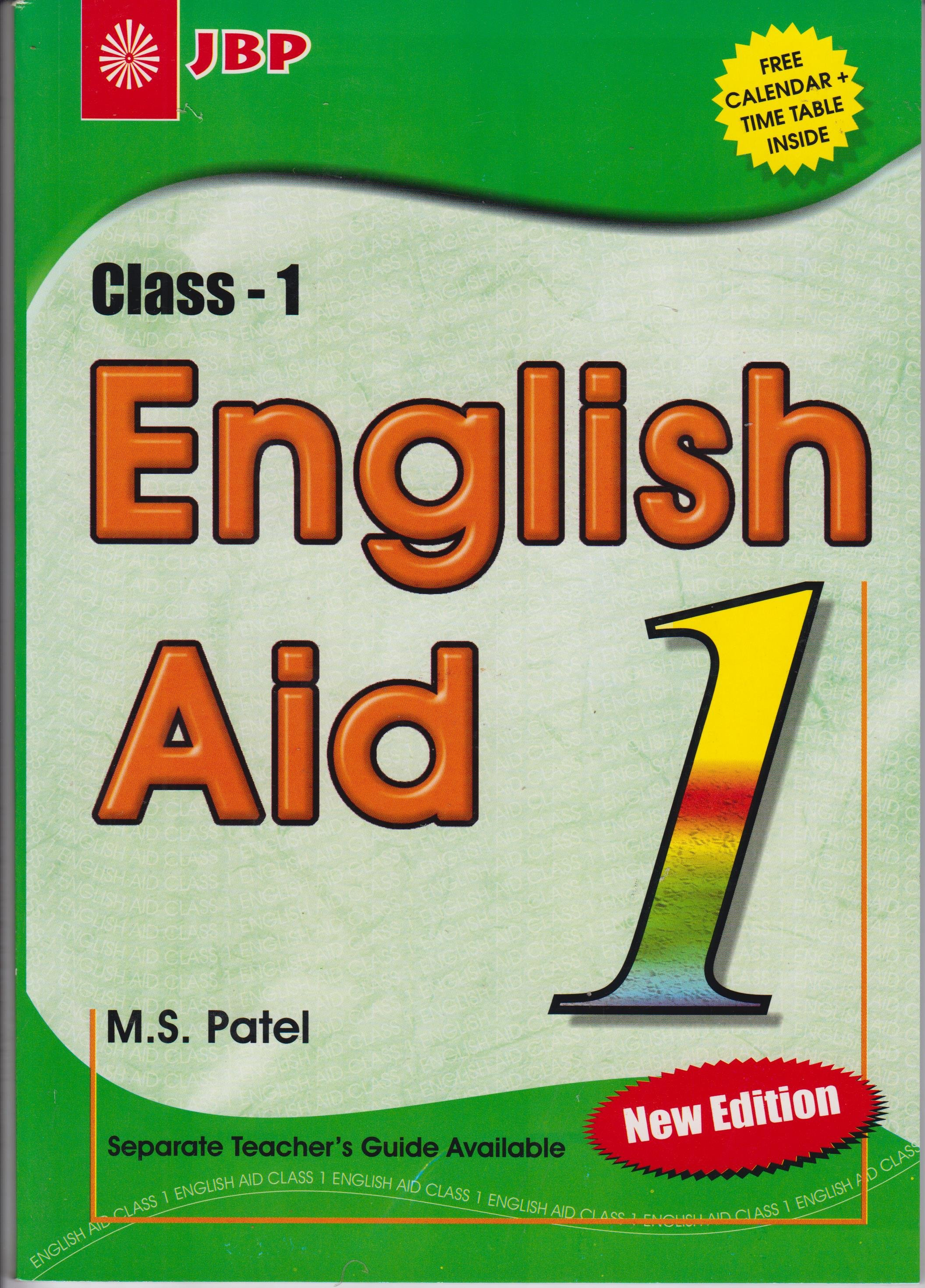 English Aid Std  1-New edition | Books, Stationery, Computers, Laptops and  more  Buy online and get free delivery on orders above Ksh  2,000  Much