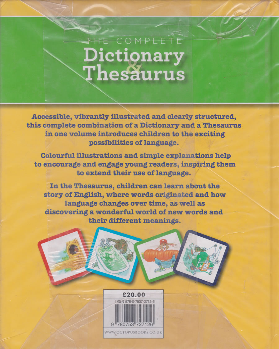 Complete Dictionary & Thesaurus (Bestsellers) | Books, Stationery,  Computers, Laptops and more  Buy online and get free delivery on orders  above Ksh