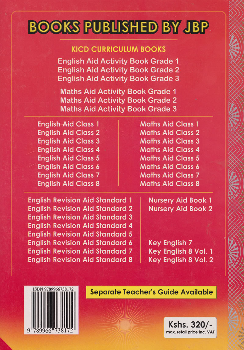 English Aid Activity book Grade 2 | Books, Stationery, Computers, Laptops  and more  Buy online and get free delivery on orders above Ksh  2,000  Much