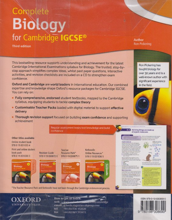 Completed biology for cambridge igcse 3rd edition text book centre completed biology for cambridge igcse 3rd edition fandeluxe Image collections