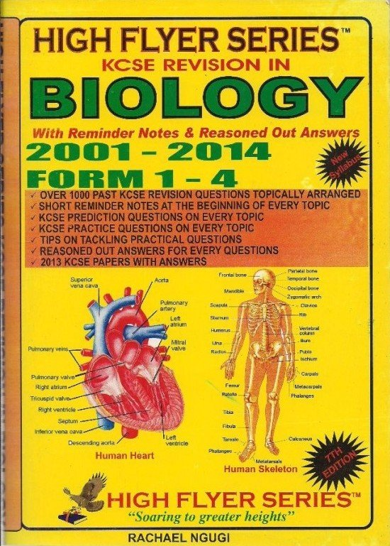 High Flyer Series KCSE Revision Biology 2001-2014 Form 1-4 | Books,  Stationery, Computers, Laptops and more  Buy online and get free delivery  on