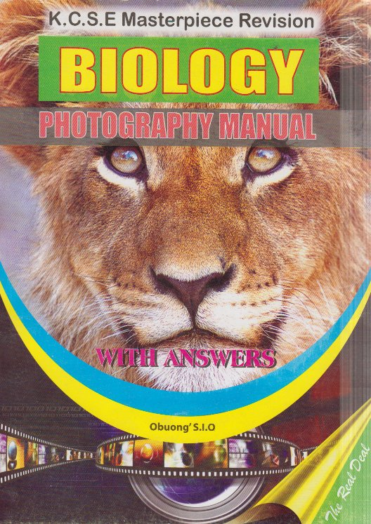 KCSE Masterpiece Revision Biology Photography Manual with answers | Books,  Stationery, Computers, Laptops and more  Buy online and get free delivery
