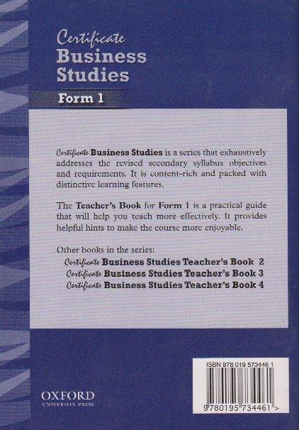 Business Objectives Teachers Book