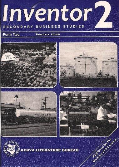 Inventor Business Studies Form 1 Pdf
