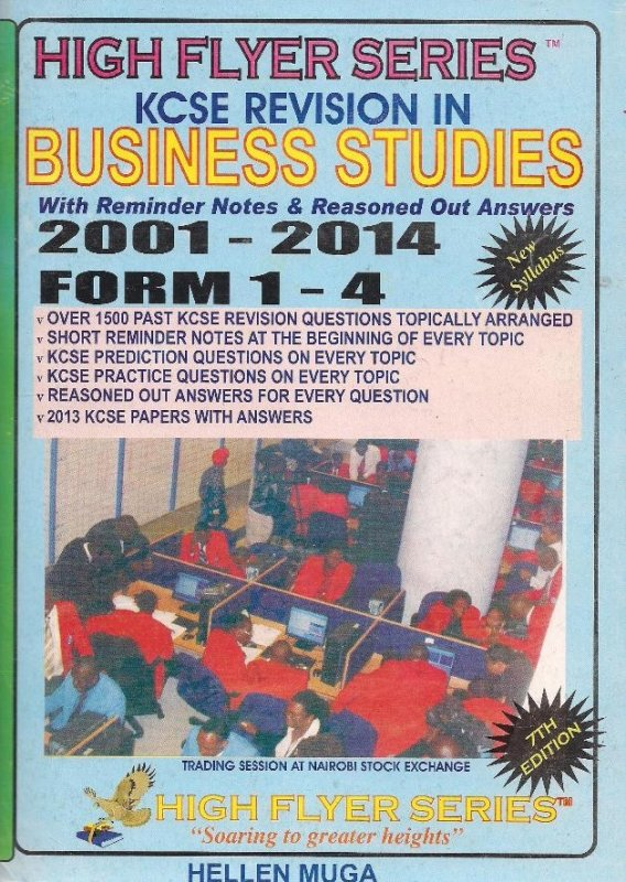 High Flyer Series KCSE Revision Business 2000-2014 Form 1-4 | Books,  Stationery, Computers, Laptops and more  Buy online and get free delivery  on
