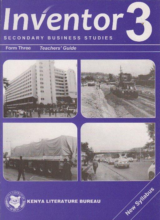 inventor secondary business studies form 3 teachers guide text rh textbookcentre com