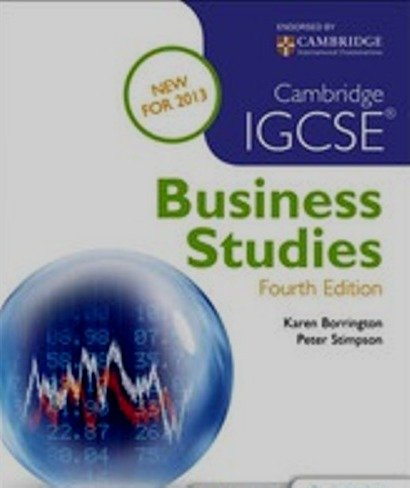 Cambridge igcse business 4th edition text book centre cambridge igcse business 4th edition fandeluxe Image collections