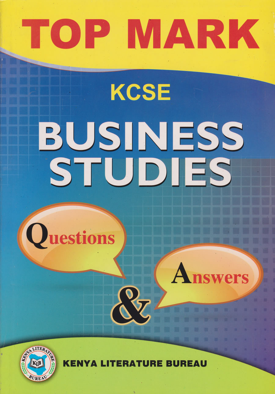Topmark KCSE Revision Business Q&A | Books, Stationery, Computers, Laptops  and more  Buy online and get free delivery on orders above Ksh  2,000  Much