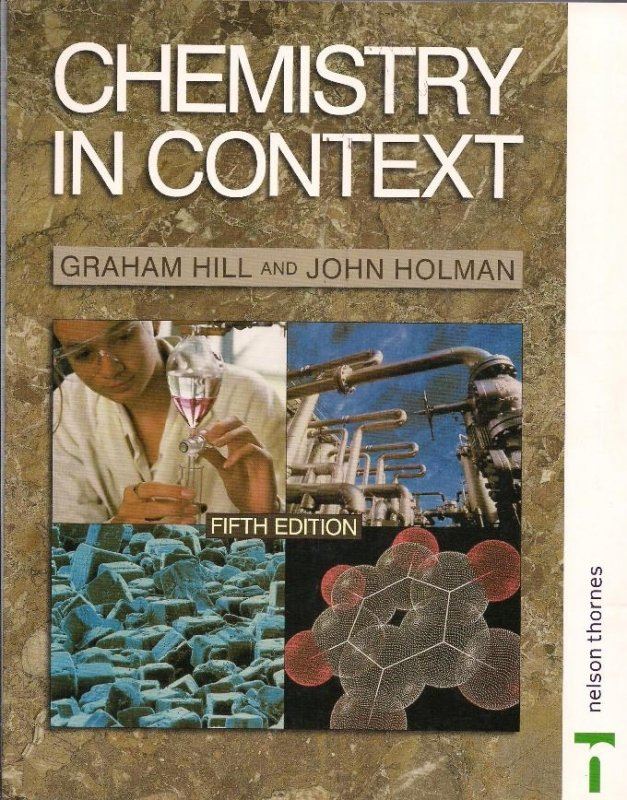 Chemistry In Context Text Book Centre