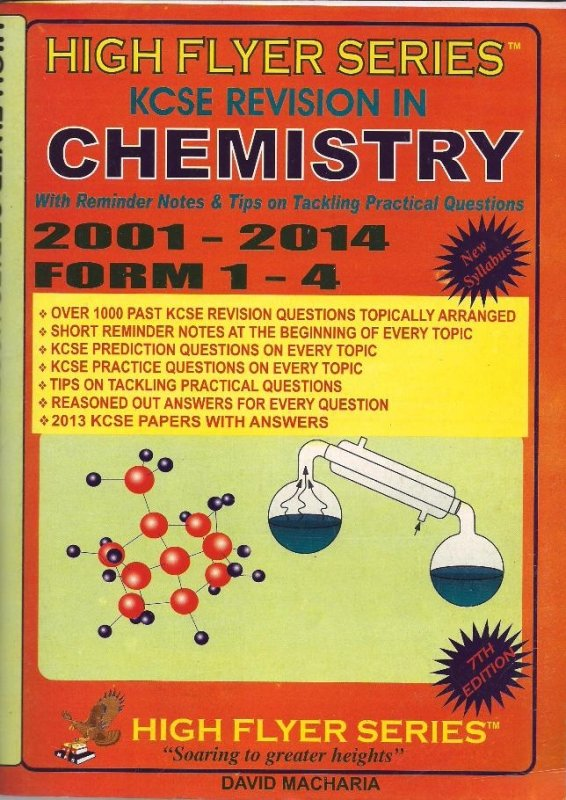High Flyer Series KCSE Revision Chemistry 2000-2014 Form 1-4 | Books,  Stationery, Computers, Laptops and more  Buy online and get free delivery  on